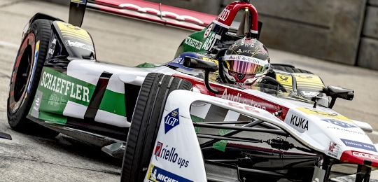 Fórmula-E: Daniel Abt vence no México