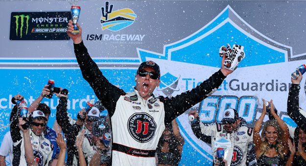 NASCAR Monster Energy Cup Series: Kevin Harvick vence em Phoenix