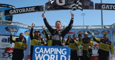 NASCAR Camping World Truck Series: John Hunter Nemechek vence em Martinsville