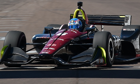 IndyCar: Estreante Robert Wickens conquista a pole-position em St. Petersburg