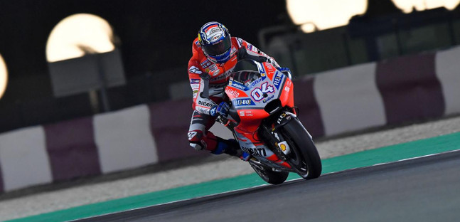 MotoGP: Andrea Dovizioso vence GP do Catar
