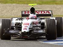 F1: Barrichello estréia na Honda com melhor tempo em Jerez