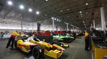 IndyCar: Equipes da Indy tomam conta do Pavilhão do Anhembi