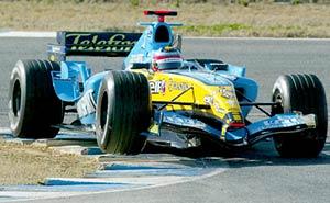 F1: Alonso é o mais veloz; Rossi o 9º