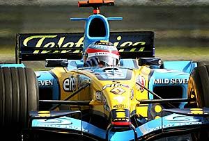 F1: Alonso termina treinos em primeiro lugar