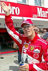 F1: Schumacher comemora bons resultados do novo carro