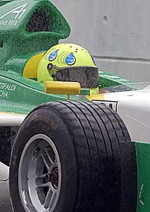 A1GP: Fittipaldi fica em 13º no 1º treino