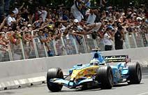 F1: Alonso se apresenta para 280 mil em Sevilha