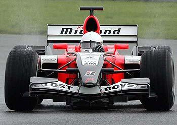 F1: Midland pode dar nova chance a Max Biaggi