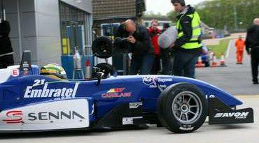 F3 Inglesa: Bruno Senna vai para o tudo ou nada em Thruxton