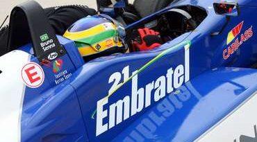 F3 Inglesa: Bruno Senna defende liderança na França