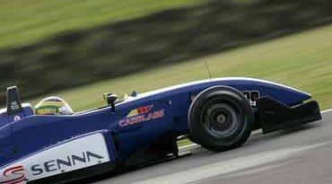 F3 Inglesa: Bruno Senna é o terceiro mais rápido em Silverstone