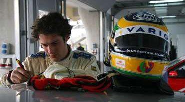 F3 Inglesa: Bruno Senna testa e prevê quebra de recorde em Croft