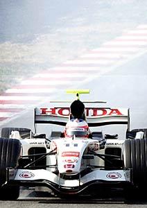 F1: Button mostra confiança no novo carro da Honda