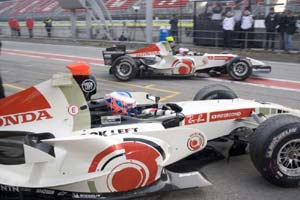 F1: Button estranha fase de Barrichello