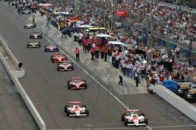 Indy 500: Hornish e Sharp à frente no treino final das 500 Milhas