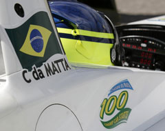 ChampCar: Christiano da Matta sai do hospital para jantar