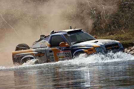 Rally dos Sertões: Chevrolet já aparece brigando pela ponta