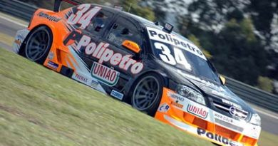 Stock: Mateus Greipel entre os mais rápido em Curitiba