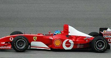 IPS: Jaime Câmara anda com a Ferrari de Schumacher