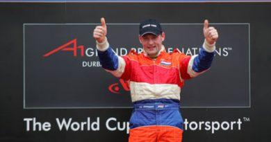 A1GP: Jos Verstappen continua na equipe holandesa