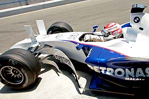 F1: BMW testa nova 'asa-chifre' em Jerez