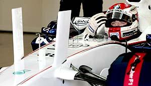 F1: Kubica lidera sexta-feira na França com novo bico da BMW