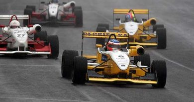 F3: Lu Boesel larga em terceiro na corrida deste domingo