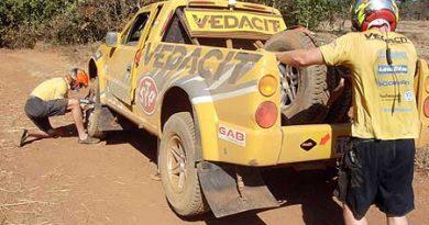 Rally dos Sertões: Marcos Baumgart e Beco Andreotti testam carro e entrosamento