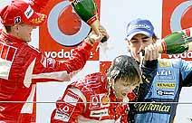 F1: Ferrari quer que Massa tome pontos de Alonso