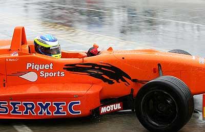 F3: Com problemas no piso molhado Merlo faz 7º e 4º lugares em Tarumã