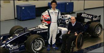 F1: Nakajima quer correr na Williams já em 2007