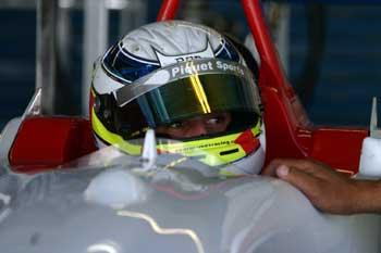 F3: Pedro Nunes iniciou programação de treinos em Brasília