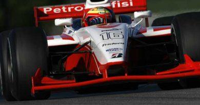 GP2 Series: Testes foram um sucesso para Pizzonia