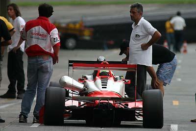F3: Rodada tripla em circuito de rua não agrada Luiz Razia
