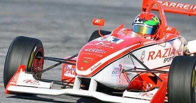 F3: Razia marca a quinta pole position na temporada