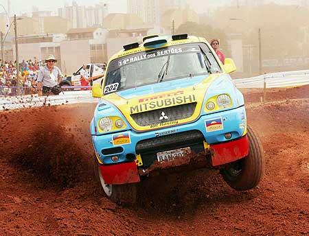 Rally dos Sertões: A dupla da equipe RR Racing foi a mais rápida da categoria Production