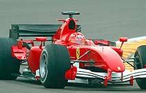 F1: Schumacher supera marca de Massa em Fiorano