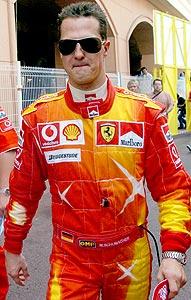 F1: Schumacher larga na pole position em Mônaco
