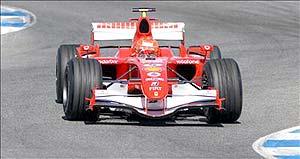 F1: Schumacher faz melhor tempo da semana em Jerez