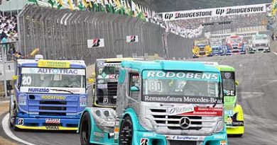 Truck: Vinicius Ramires corre pela primeira vez numa pista onde já correu