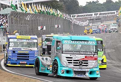 Truck: Freios vão decidir resultado, aposta Ramires