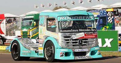 Truck: Mercedes-Benz fica a um ponto da liderança