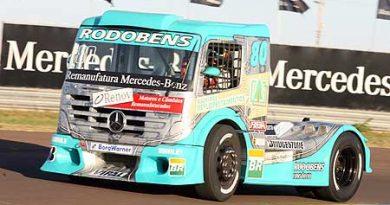 Truck: Ramires adota pista de Curitiba como sua sede informal após 400 voltas em testes