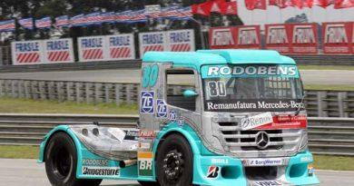 Truck: Mais rápido na tomada de tempos, Ramires 'queima' radar e larga em quinto em Curitiba