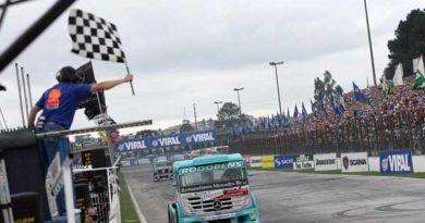 Truck: Vinicius Ramires vence em Curitiba e assume vice-liderança da Fórmula Truck