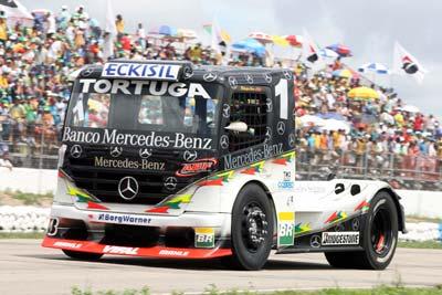 Truck: Cirino diz que segundo lugar em Interlagos é um prêmio à equipe