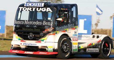 Truck: Cirino domina o 3º treino livre em Campo Grande
