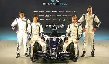 F1: Williams apresenta carro com novidades