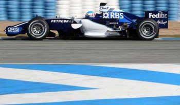F1: Williams lidera testes em Jerez; Barrichello é terceiro